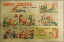 Nestle's Cocoa Ad: Neddy Nestle Runs a Special! 1940's-50's 7  x 10 inches
