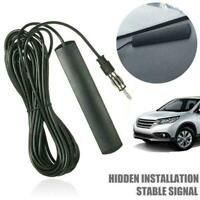 Hidden Antenna Radio Stereo AM FM Stealth For Car Boat Motorcycle Truck Veh F5I2