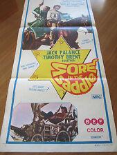 Sore in the Saddle - 1972 - Australian Original Daybill Poster