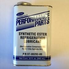 CARRIER SYNTHETIC ESTER REFRIGERANT COMPRESSOR OIL R-134a SYS 32 oz 07-00292-00