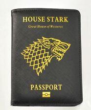 Popular Game of Thrones House Stark Passport Cover PU Travel FREE SHIPING