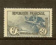 "FRANCE STAMP TIMBRE N° 155 ""ORPHELINS DE LA GUERRE 5F+5F MARSEILLAISE"" NEUF x TB"