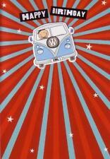 Birthday Card - features Volkswagen VW Split Screen Bus Camper - New