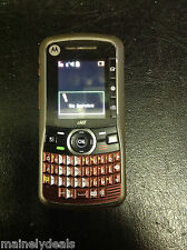 Motorola Clutch I465 - Red (Boost Mobile) Cellular Phone Tested Works AS IS
