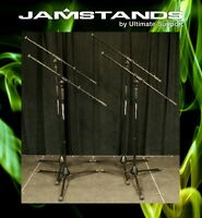 NEW 4 Pack JamStand JS-MCFB100 Tripod Microphone Stand!