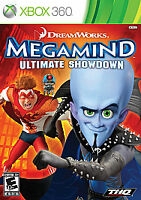 Megamind: Ultimate Showdown (Microsoft Xbox 360, 2010) COMPLETE THQ EVERYONE