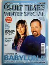 Cult Times The Best Of Cult Tv 1997 Special Issue #4 The Future of Babylon 5