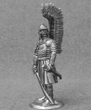 Metal Miniature Toy Medieval 1/32 Polish Winged Hussar Toy Soldiers 54mm Tin