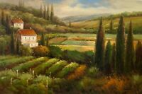 """Original Oil Painting Hand Painted On Canvas 24"""" x 36"""""""