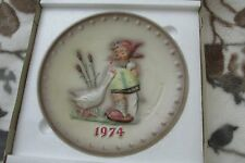 H. I. Hummel collectible plate 1974 by Goebel In Original box