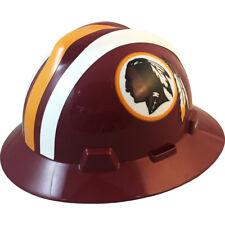731f0b9007b8e MSA V-gard Full Brim Washington Redskins NFL Hard Hat Type 3 Ratchet  Suspension