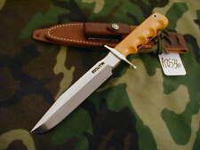 """RANDALL KNIFE KNIVES #16-7"""" SP. F #1,SS,NSDH,CS GOLD MIC.,FG,WT,C STY.SH  #A2536"""