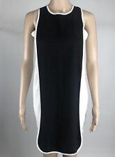 Monteau Dress Size S Women's Black White Sleeveless Shift