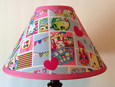Shopkins Patchwork Fabric Children's Lamp Shade