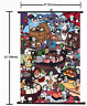 1996 Anime game Neko Atsume  NekoAtsume Wall Scroll Home Decor Poster  Cosplay