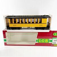 LGB 3080 D&RGW Denver Rio Grande Western Passenger Car G Scale Train New in Box