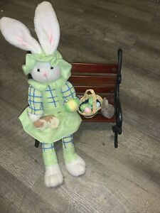 Handmade Easter Bunny Decoration Arrangement
