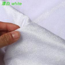 "white Silk velvet fabric Velour fabric Pleuche fabric table cloth 60"" BTY"