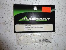 PARTS NEW ASCENDANCY RACING ASD-01008 Effortless Clutch springs 1.1 Silver