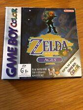 Game Boy Color The Legend Of Zelda Oracle Of Ages C I B Australian Version