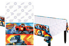 Blaze and the Monster Machines Plastic Table Cover ~ Birthday Party Decorations
