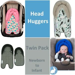 Keep Me Cosy™ 2 in 1 Baby Head Support Pillow for Car Seats, Prams or Strollers