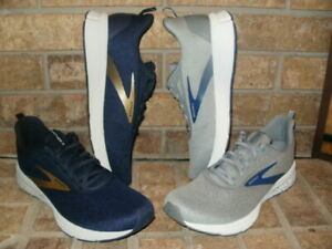 New Brooks Anthem 3 Mens Running Shoe/ Pick Gray or Navy Blue/ 1103341D MSRP $85