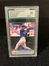 Sammy Sosa 1999 Pacific Home Run History Graded 9 Mint Chicago Cubs