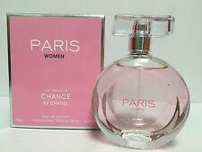 PARIS WOMEN Our Version of Chance 3.4 OZ 100 ML EAU DE PARFUM SPRAY NEW IN BOX