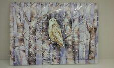 Postcard ,peter pauper press ,Inc.Owl.New