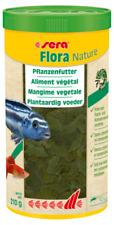 Sera Flora Nature 1000ml Pflanzliches Futter Flockenfutter für Herbivore
