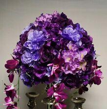 Artificial Flower Ball Bouquet Wedding Kissing Ball Decor 30cm