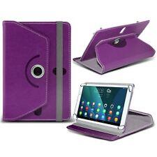 Giratorio Piel Artificial Tableta Funda con Soporte para Sony Xperia Z