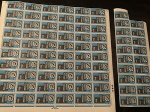 1966 ABBEY SHEET STAMPS