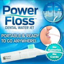 Power Floss Dental Water Jet As Seen Teeth Cleaning Flusher Air Powered