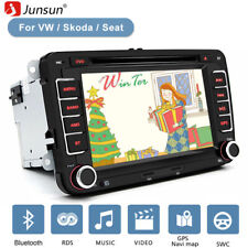 "RNS510 Autoradio HD DVD SD GPS SAT NAV 7"" For VW PASSAT TOURAN GOLF MK5 6 T5"