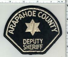 Arapahoe County Sheriff's Office (Colorado) 2nd Issue Uniform Take-Off Patch