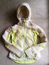 Lululemon Run Bundle Up Down Jacket Clarity Yellow Polar Cream 6