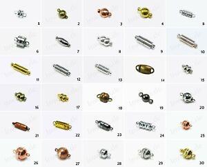 INWARIA Magnetverschluss Verschluss Kettenverschluss Schmuckverschluss, MV-15