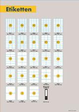 Vielzweck Etiketten ST 08 105 x 74.25 cm 10 Blatt