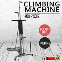 LCD Vertical Climber Stepper Climbing Machine Equipment Exercise  Equipment