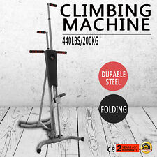 LCD Vertical Climber Stepper Climbing Machine Equipment Exercise  Equipment