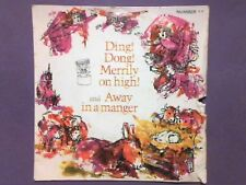 "Sunbury Junior Singers - Ding! Dong! Merrily On High/Away In A Manger (7"") NO 11"
