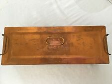 Copper Sterilizer Box for Medical Tools, manufactured by Castle