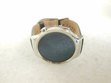 Huawei Smart Watch 316L Stainless Silver W/ Black Leather Band(Unit Only)(55446)