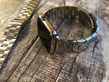 For Apple Watch Series 4 3 2 1 42mm 44mm Stainless Steel Strap Watch Band Clasp