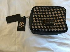 Christian Lacroix Cosmetics Case And Make Up Bag Black