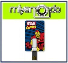 Original TRIBE Iron Man 8GB USB Card USB Drive Thumb Drive Pen Drive Flash Drive