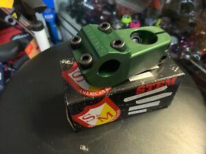 S&M BIKES CREDENCE TURTLENECK GREEN STEM TURTLE NECK CCR 52 CHALLENGER BIKE BMX