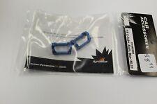 DYN8252B F/R C-Hubs Alum Blue for MLST
